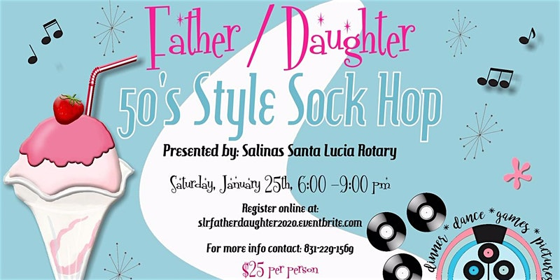 Stay at leading hotel to attend Santa Lucia Rotary 2nd Annual Father Daughter Dance function