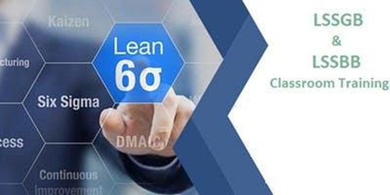 Attend Dual Lean Six Sigma Green Belt & Black Belt 4 Days Classroom Training In Salinas To Make Your Holidays Memorable