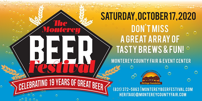2020 The Monterey Beer Festival is a Blessing for Beer Lovers