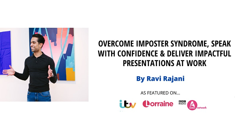 Come to a Corporate Event by Ravi Rajani and Learn How to Boost Confidence?