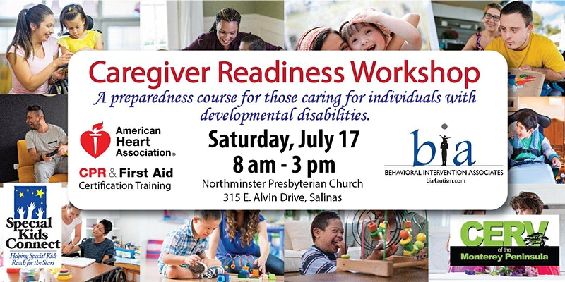 Caregiver Readiness Training offer respite care for individuals with developmental disabilities