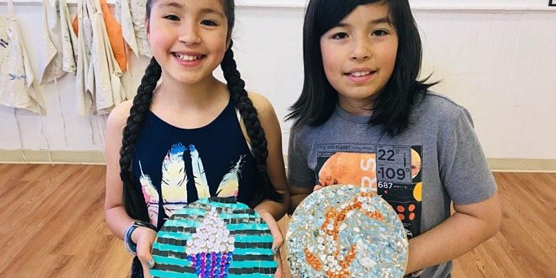SUMMER ART CAMP 3: Creating Mosaic (ages 8-13)